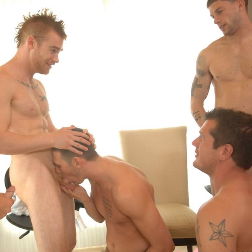 four gay man